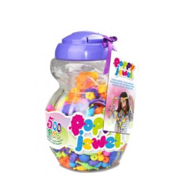 Игрушечный набор для изготовления украшений Poppy Jewel, 500 деталей