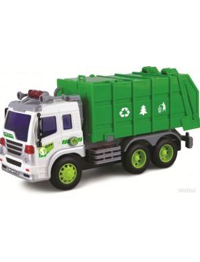 Мусоровоз Dave Toy Junior Trucker 28 см со светом и звуком (33018)