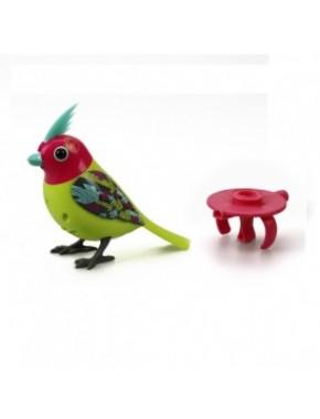 Интерактивная птичка DigiBirds третьего поколения - НЕОН