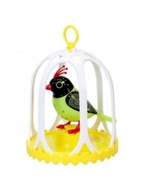 Игровой набор с интерактивной птичкой DigiBirds третьего поколения - ОЛИВИЯ