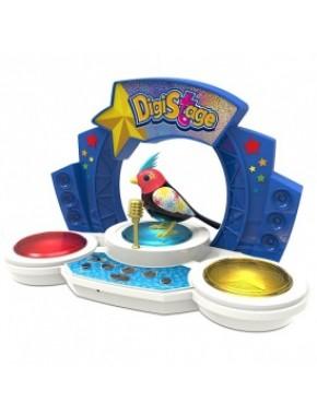 Игровой набор с интерактивной птичкой DigiBirds третьего поколения - БУМБОКС