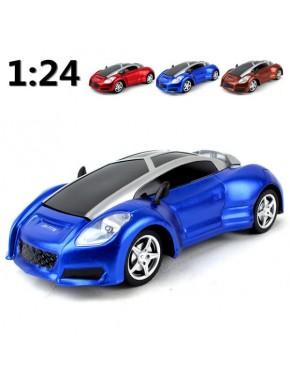 Автомодель HLB Die Cast Bugatti Veyron Grand Sport Vitesse (1:24) со светом и звуком Синяя