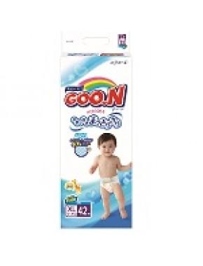 Подгузники GOO.N для детей 12-20 кг (размер Big (XL), на липучках, унисекс, 42 шт) 753662