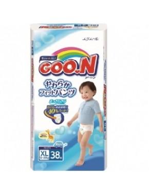 Трусики-подгузники GOO.N для мальчиков 12-20 кг (размер Big (XL), 38 шт) 753714
