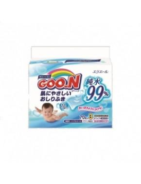 Влажные салфетки GOO.N для чувствительной кожи (3 мягких сменных блока по 70 шт) 733431