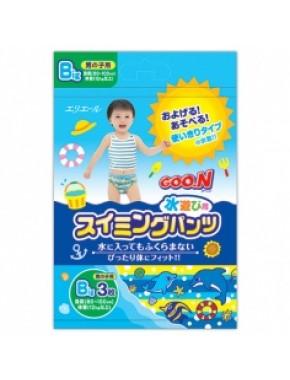 Трусики-подгузники для плавания Goo.N для мальчиков от 12 кг, ростом 80-100 см(размер Big (XL),3 шт) 753646