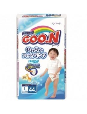 Трусики-подгузники GOO.N для мальчиков 9-14 кг (размер L, 44 шт) 753712