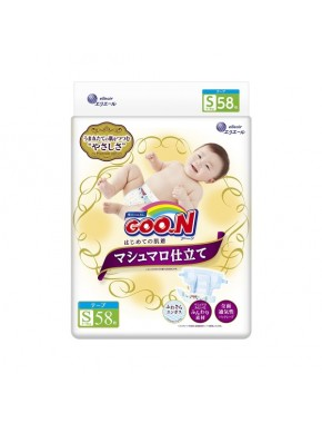 Подгузники Goo.N Super Premium Marshmallow 4 - 8 кг унисекс 58 шт (853347)