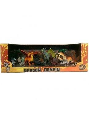Игровой набор HGL Dragon Domain Серия A 9 шт