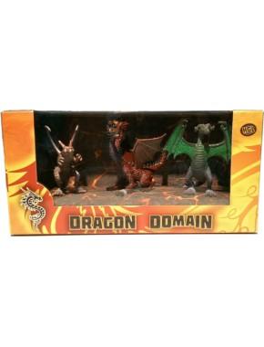 Игровой набор HGL Dragon Domain Мир драконов Серия F 3 шт