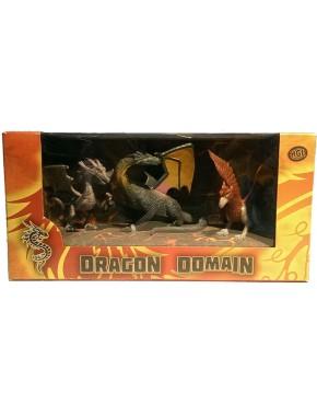 Игровой набор HGL Dragon Domain Мир драконов Серия A 3 шт