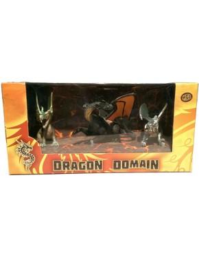 Игровой набор HGL Dragon Domain Мир драконов Серия E 3 шт