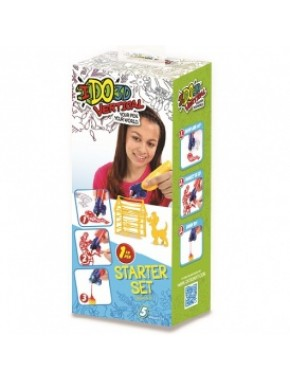 Набор для детского творчества с 3D-маркером - ЖИВОТНЫЕ