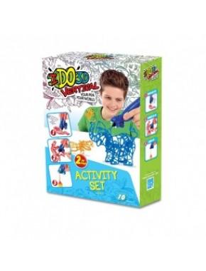 Набор для детского творчества с 3D-маркером - ЗООПАРК