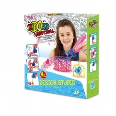 Набор для детского творчества с 3D-маркером - ДЕВОЧКИ
