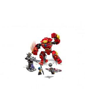 Конструктор JVTOY Железный человек против Халка Серия Герои Справедливости (14004)