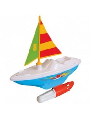 Развивающая игрушка – ПАРУСНИК (для игры в ванной) 047910
