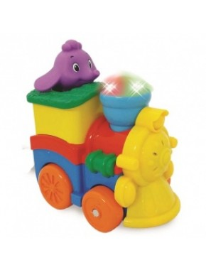 Развивающая игрушка - ПАРОВОЗИК СЛОНИКА