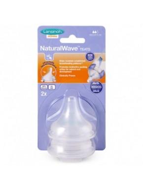 Соска для естественного кормления Natural Wave (M, средний поток, 2 шт.) 75910