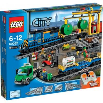 LEGO City Trains Грузовой поезд (60052)