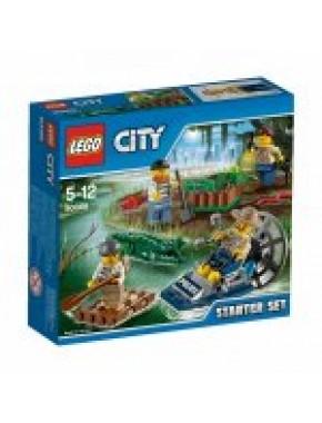 Конструктор LEGO City Болотная полиция для начинающих (60066)
