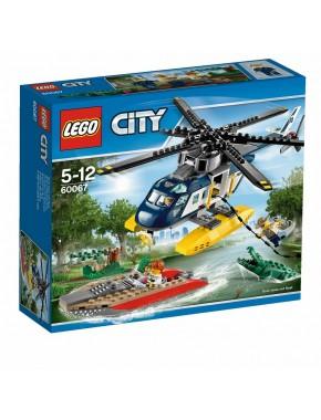 Конструктор LEGO City Police Преследование вертолетом (60067)