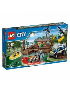 Конструктор LEGO City Тайник преступников (60068)