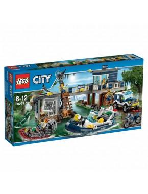 Конструктор LEGO City Police Участок болотной полиции (60069)