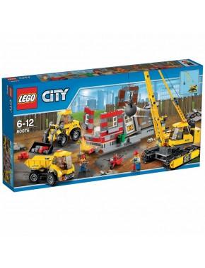 Конструктор LEGO City Экскаватор и грузовик (60075)