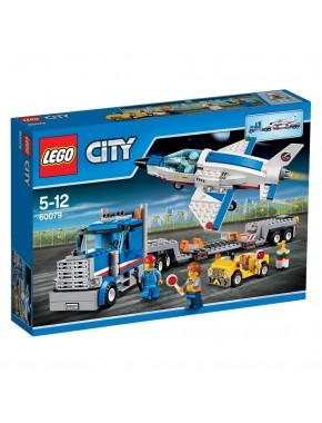 Конструктор LEGO City Airport Транспортировщик учебных самолетов (60079)