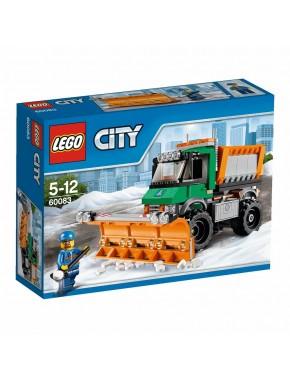 Конструктор LEGO City Снегоуборочный грузовик (60083)
