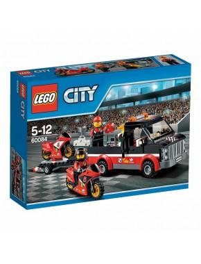 Конструктор LEGO City Great Vehicles Перевозчик гоночных мотоциклов (60084)