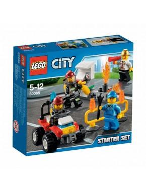Конструктор LEGO City Набор Пожарная охрана для начинающих (60088)
