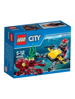 Конструктор LEGO City Исследование морских глубин (60090)