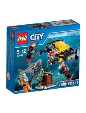 Конструктор LEGO City Supplementary Глубоководный скутер (60091)