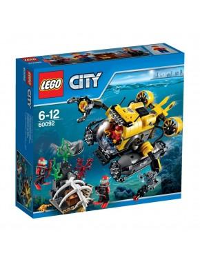 Конструктор LEGO City Supplementary Глубоководная лодка (60092)