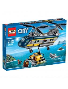 Конструктор LEGO City Supplementary Вертолет исследователей моря (60093)