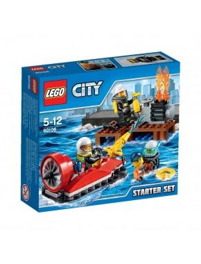 Конструктор LEGO City Fire Набор «Пожарная охрана» для начинающих (60106)