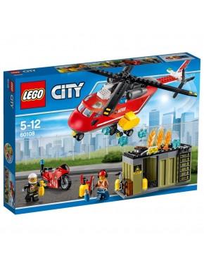 Конструктор LEGO City Fire Пожарная команда (60108)