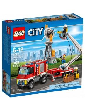 Конструктор LEGO City Fire Грузовик пожарной команды (60111)