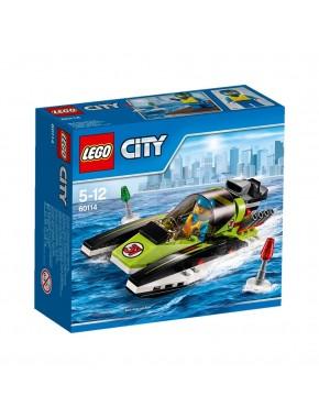 Конструктор LEGO City Great Vehicles Гоночный катер (60114)