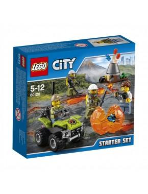 Конструктор LEGO City Исследователи вулканов (60120)
