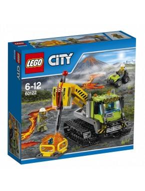 Конструктор LEGO City Гусеничный трактор исследователей вулканов (60122)