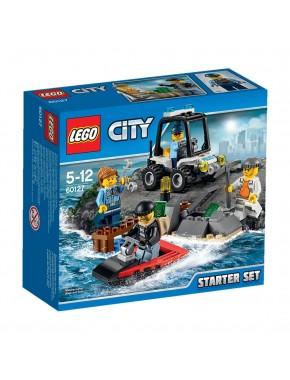 Конструктор LEGO City Набор для начинающих Остров-тюрьма (60127)