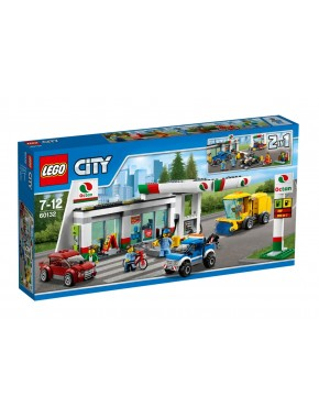Конструктор LEGO City Заправочная станция (60132)