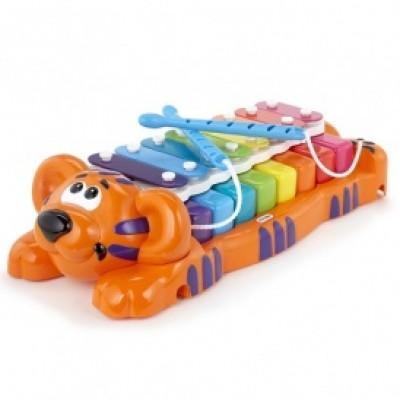 Развивающая музыкальная игрушка - ТИГРЕНОК-КСИЛОФОН: ДВА В ОДНОМ (звук) 629877MP