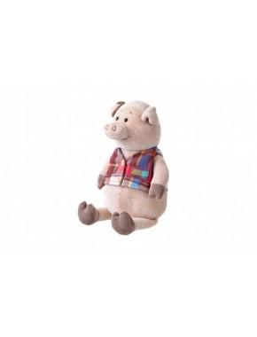 Мягкая игрушка Same Toy Свинка в жилетке, 35 см (THT723)