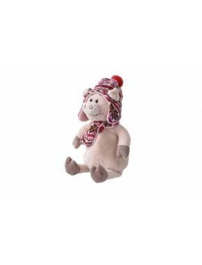 Мягкая игрушка Same Toy Свинка в шапке, 30 см ( THT721)