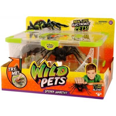 Интерактивная игрушка Moose Логово паука и его житель
