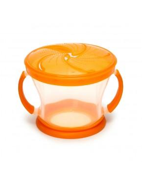 Контейнер для печенья (оранжевый)
